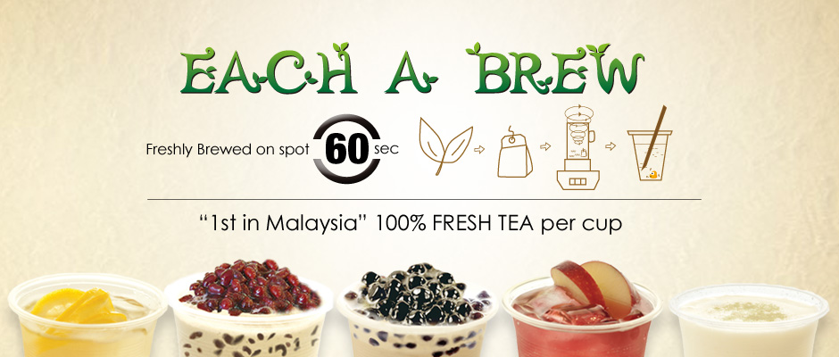 Each A Cup Bubble Milk Tea | Franchise Opportunity ...