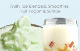 Fruity Ice Blended, Smoothies, Fruit Yogurt & Sunrise